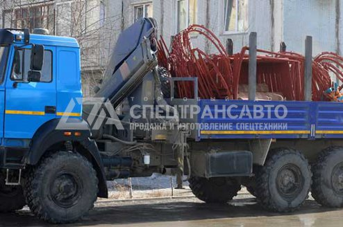 Сортиментовоз Урал 4320-82М