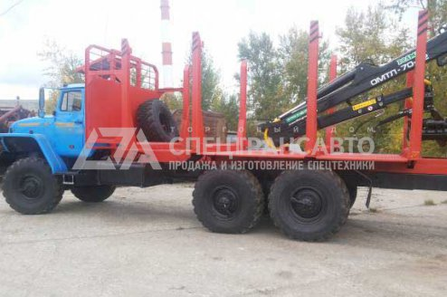 Сортиментовоз Урал 4320-60Е5 с ГМ VM10L