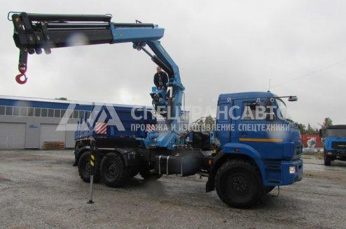 Седельный тягач КаМАЗ-43118-46 с КМУ