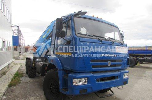 Фото: Седельный тягач КаМАЗ-43118 с КМУ ИМ-240-04