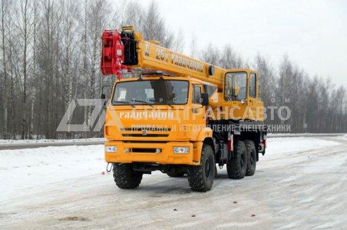 Фото: Автокран  КС 55713-5В Галичанин КАМАЗ 43118