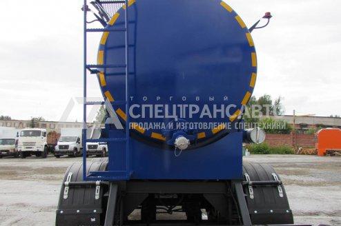 Фото: Полуприцеп-цистерна ППЦ-20 техвода