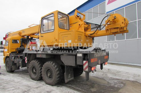 Автокран КС-55713-5 Галичанин на шасси Камаз 43118