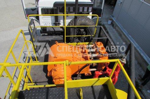 Агрегат для Кислотной обработки скважин СИН-32 на шасси КамАЗ 43118-50