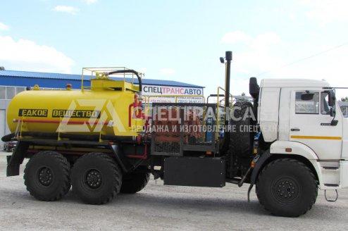 Агрегат для Кислотной обработки скважин СИН-32 на шасси КамАЗ 43118-46