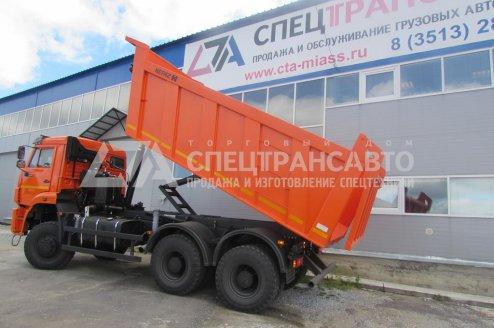 Самосвал КамАЗ 6522