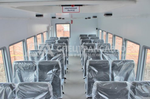 Вахтовый автобус Камаз 43118 28 мест