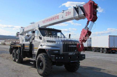 Фото: Автокран Челябинец 45721 на шасси Урал Next