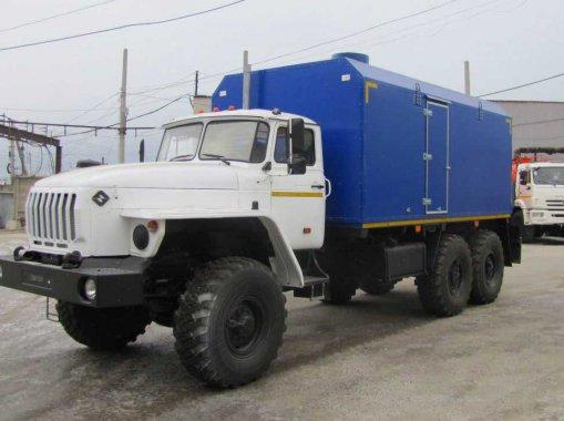 ППУА 1600/100 на шасси Урал 4320-72Е5