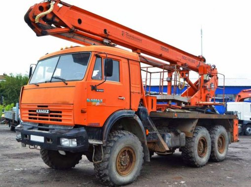 Буровая установка КАМАЗ-43114 УРБ-2А-2Д