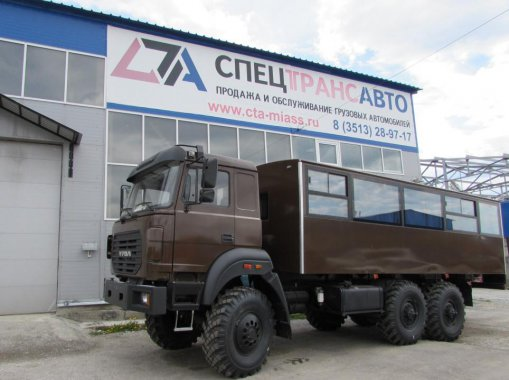 Вахтовый автобус Урал 3255-3013-79Е5