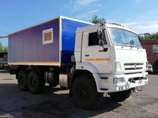 Изотермический фургон Камаз 43118