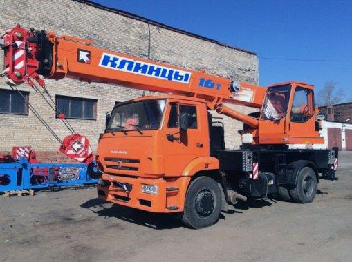 Автокран КС-35719-8А Клинцы на шасси КАМАЗ 53605
