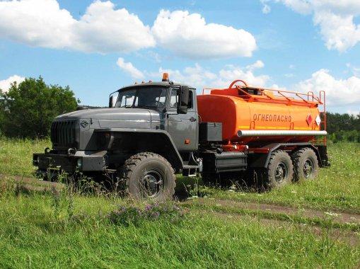 АЦ-12 на шасси Урал 4320