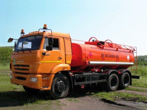 АЦ-7,5 на шасси Камаз 5350-3060-66(D5)