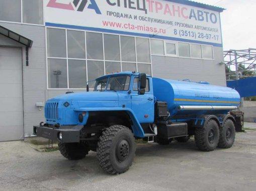АЦПТ-10 на шасси Урал 4320