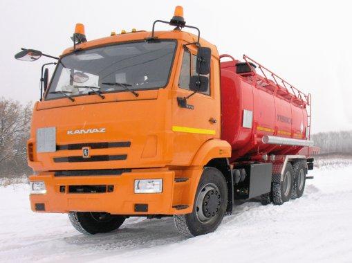 АТЗ-14 на шасси КАМАЗ 65115