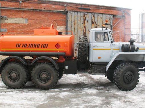 АТЗ-6,5 на шасси Урал 4320