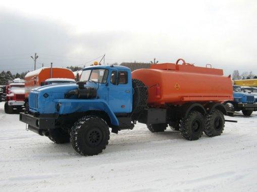АТЗ-7,5 на шасси Урал 5557