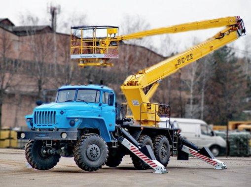 Автогидроподъемник АГП ВС-22 Урал 4320-1112-61М