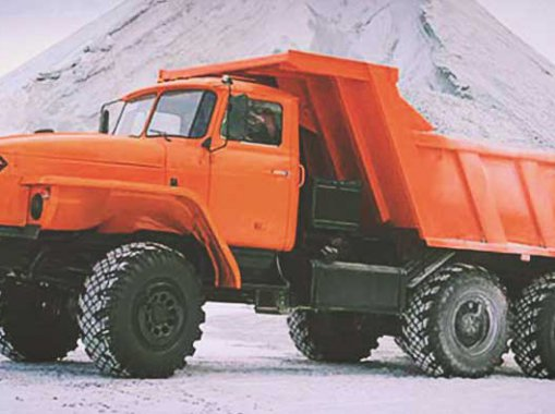 Самосвал Шламовоз Урал 55571-60