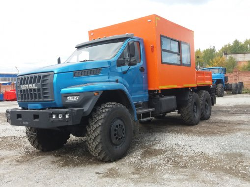 Грузопассажирский автомобиль ГПА на шасси Урал Next