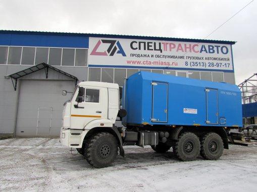 ППУ 1600/100 на шасси КАМАЗ 43118-50
