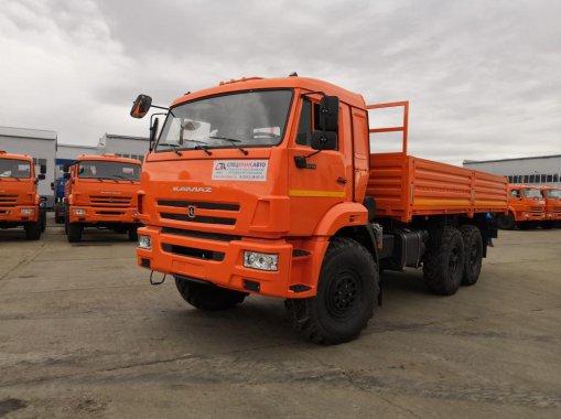 Бортовой автомобиль КАМАЗ 43118-50