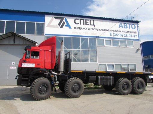 Автомобиль контейнеровоз КАМАЗ 6560-53