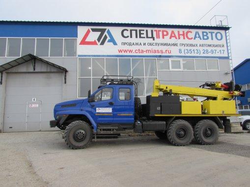Буровая установка ПБУ на шасси УРАЛ NEXT 4320-6982-72