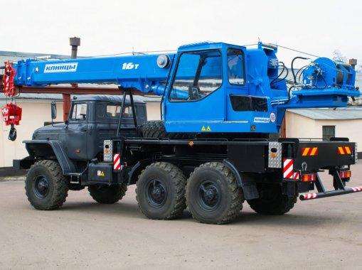 Автокран КС-45719-3К Клинцы на шасси Урал-5557