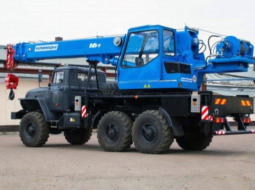 Автокран КС-35719-3-02 Клинцы на шасси Урал 5557