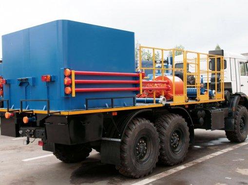 Цементировочный агрегат СИН-35 на шасси КАМАЗ 43118-50