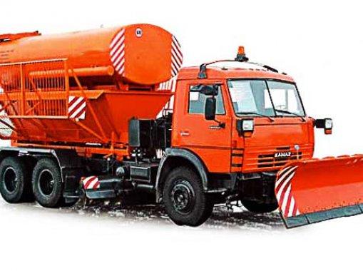Машина комбинированная ЭД-405 КАМАЗ-53215