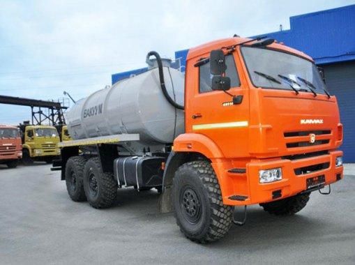 МВ-10 на шасси Камаз 43118-3027-50