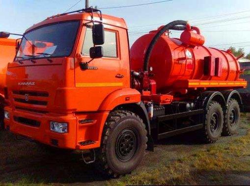 Вакуумная машина МВ-12 КАМАЗ-65115