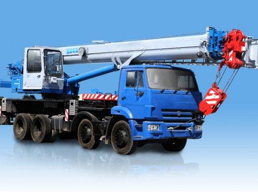 Автокран КС-55729-1В Галичанин КамАЗ-6540