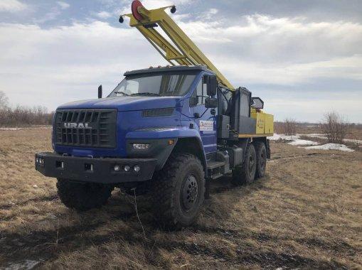 Буровая установка УРБ-2Д3 на шасси УРАЛ NEXT