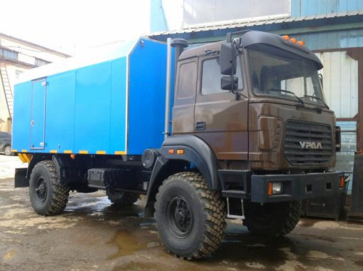 ППУА 1600/100 на шасси Урал 5557-80М