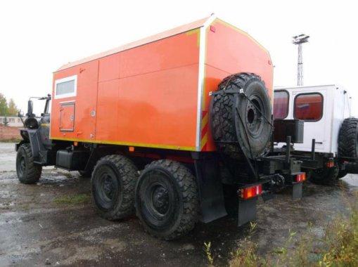 ППУА 1600/100 на шасси Урал 4320-70М