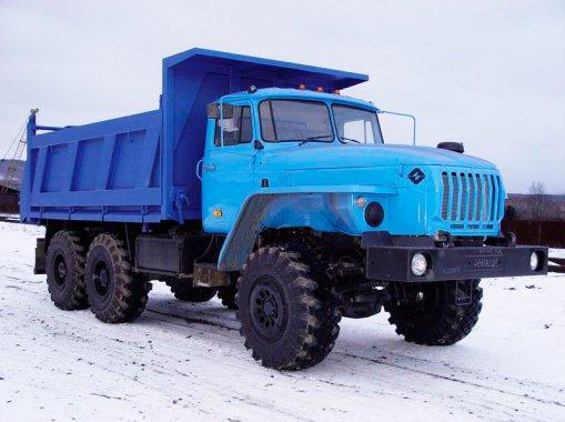 Самосвал Урал 4320