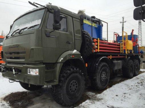 Цементировочный агрегат СИН-31.64 на шасси КАМАЗ-63501