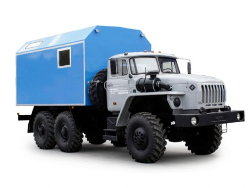 ТБМ Урал 4320