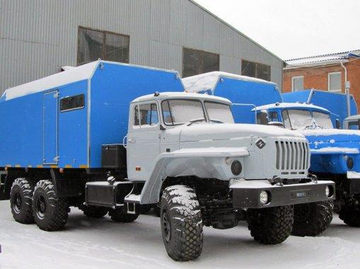 ППУА 2000/100 на шасси Урал 4320