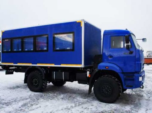 Вахтовый автобус Камаз 43502-66(D5) (22 места)