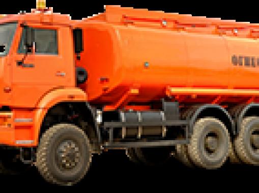 АЦ-8 на шасси КАМАЗ 5350-3061-66(D5)