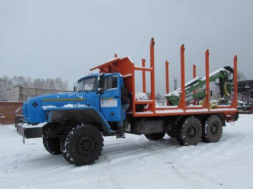 Сортиментовоз Урал-4320