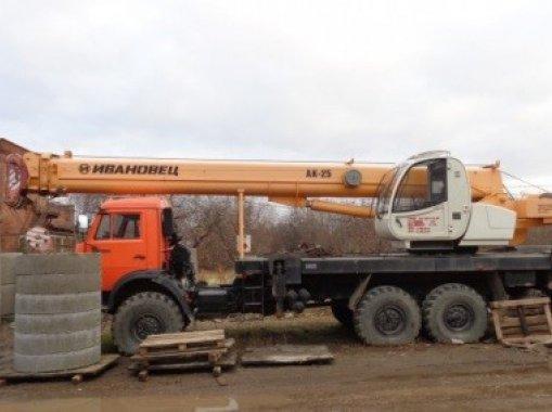 Автокран Ивановец КС-45717-3р КАМАЗ