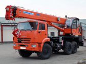 Автокран Клинцы КС-45719-7К на шасси КАМАЗ 43118