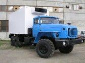 Изотермический фургон с КУ Урал 4320